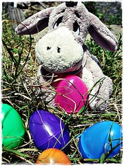Have A Wonderful Easter Day!! ( Jovas  ) Tags: pink blue orange green easter toy purple pascua huevos eggs mueco eeyore juguete peluche eastereggs huevosdepascua