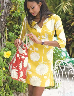 super sunflower tunic