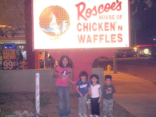 Introducing the Kids to Roscoes