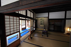 Japanese traditional style SAMURAI house / (  ) (TANAKA Juuyoh ()) Tags: old house architecture japanese design high ancient traditional style hires tatami resolution  5d hi sliding residence res partition  markii kakejiku   tokonoma