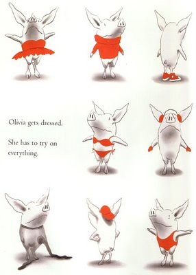 Top 100 Picture Books #54: Olivia by Ian Falconer