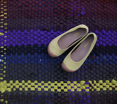 Handwoven Superwash Wool Sweater Rug (fiveforty) Tags: handwoven fiveforty ragrag recycledtextile superwashwoolsweaters