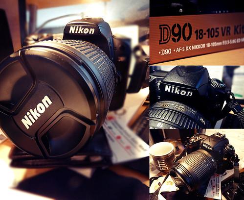 Nikon D90!