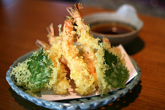 Tenpura Moriawase - Assorted Tempura (Prawn and Vegetable)