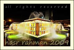 central flow diagram !! :) (Nasr Rahman) Tags: night canon liberty long exposure market roundabout bank tokina handheld rahman 11mm lahore nasr chowk alfalah abigfave
