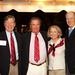 George Watt, John Powell, Peggy Watt, and President Benson