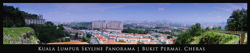 Panoramic View of KL