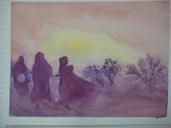 Afghan Sands painting