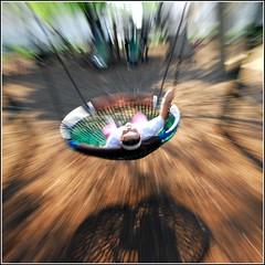 the big swing (kubse) Tags: laura playground zoom move swing karlskirche schaukel resselpark