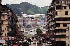 "JA8532 DC-10-40 ""JAL"" (Daryl Chapman Photography) Tags: hongkong amazing 13 runway jal kaitak dc10 japanairlines mcdonnelldouglas tokwawan dc1040 ja8532"