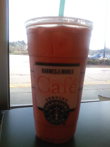 Raspberry French Soda.  Venti.  Makes Me Happy.