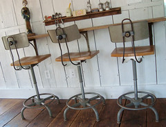 barn stools (mayalu) Tags: barn vintage lab gorgeous stools midcentury adjustable swivel loveatfirstsite ajustrite