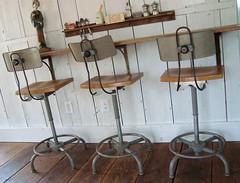 barn stools (mayalu) Tags: barn vintage lab gorgeous stools midcentury adjustable swivel loveatfirstsite ajustrite