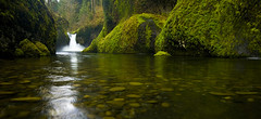 PunchbowlPano (sweber4507) Tags: green nature beautiful oregon creek forest river portland waterfall moss rocks stream eagle peaceful wideangle columbia falls gorge wilderness lush cascade idyllic mossy sylvan punchbowl sigma1020mm otw flickraward excapture dragondaggerphoto