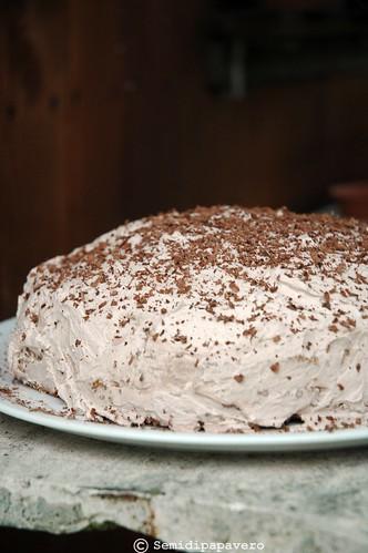 Torta Panna, cacao...
