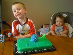 Nathan's 4th birthday