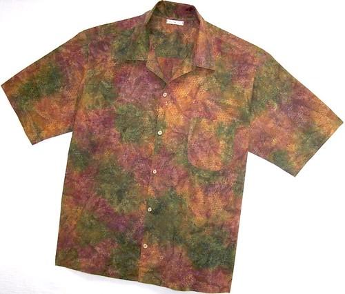 Mens Batik Shirt