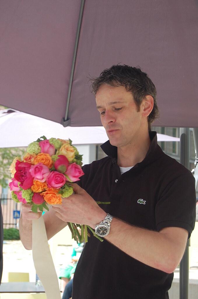 Florist Gerben Reitsma