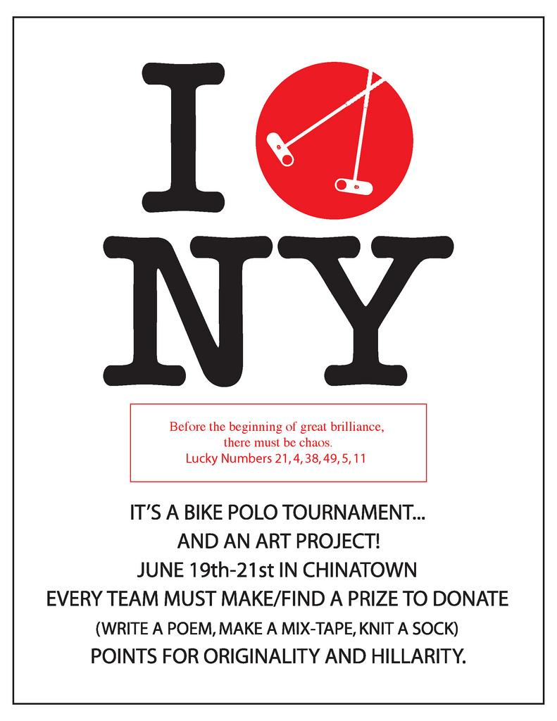 I polo NY flier