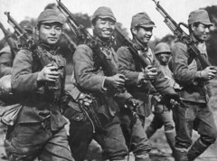 japanese army (dani1944) Tags: usa smiling bar japanese made guns gi weapons bren 1944