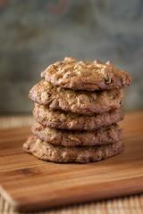 Cookies 3 (JToddM) Tags: kitchen cookies peonies baked chocolatechip