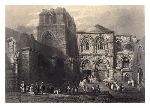 013-Iglesia del Santo Sepulcro-Bartlett, W. H. 1840-1850