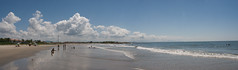 Itapoá (guilherme.storck) Tags: blue sea sky panorama color nature azul brasil clouds cores mar sand cu areia céu nuvens santacatarina cor itapoá itapo