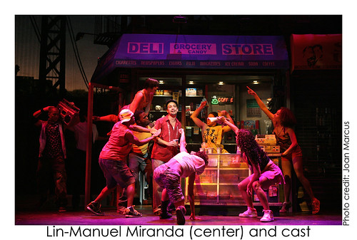 In the Heights on Broadway at the Richard Rodgers Theatre