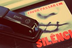 (brunopxmarques) Tags: silencio grampo