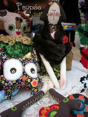 Suzette Esperando por Voc (Laura Poupe) Tags: bear art oso boneco doll arte artesanato craft creation fabric boneca suzette urso criao mueca tecido poca poupe toyart panotecido laurapoupee laurapoupe