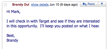I want to blog about Target- 2