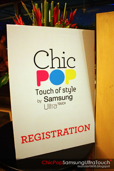 Chic Pop by Samsung Ultra Touch