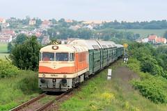 T 678.0012 Hl. Kaice (satanclause) Tags: train republic czech railway vlak 775 d hlska historicky eleznice t678 pomeran kaice nostalgicky