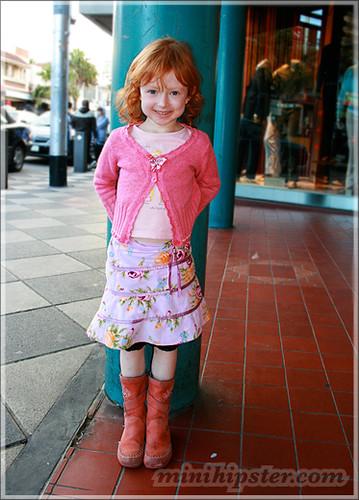 RUBY. MiniHipster.com: children's childrens clothing trends, kids street fashion, kidswear lookbook