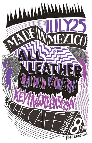 made in mexico all leather rapid youth kevin greenspon che cafe