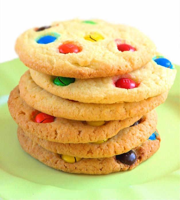 bake sale week: m&m cookies