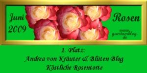 Garten-Koch-Event 'Rosen' - die Siegerin