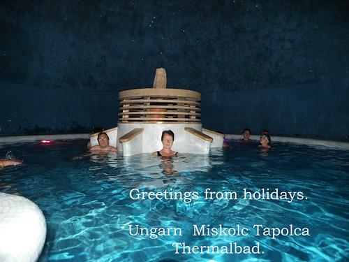 Miskolc tapolca ungarn barlangfürdő thermalbad