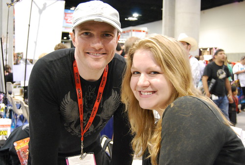sdcc2009 / giselle and david mack