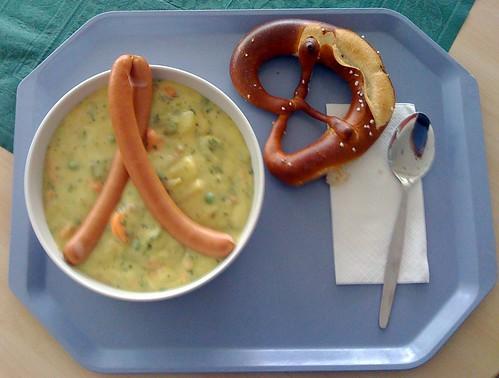 "Kartoffelsuppe ""Berliner Art"""