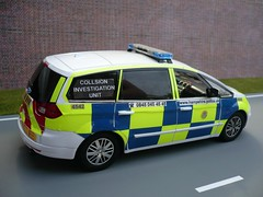 1:18 Ford S Max Hampshire Police Collision Investigation Unit (alan215067code3models) Tags: max ford police s hampshire collision unit 118 investigation