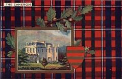 Old Clan Cameron Postcard