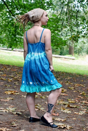 Blue Bell Tie Dye Sundress
