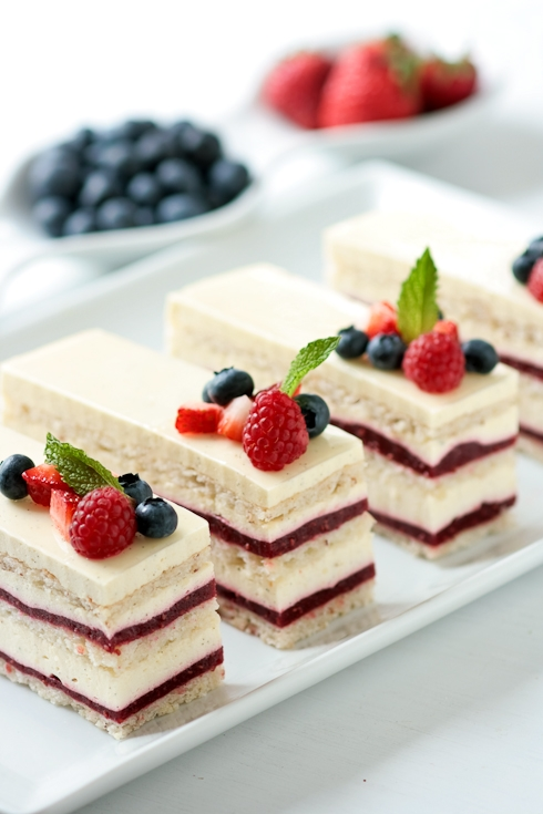 Bavarian Mousse Cake Recipe
