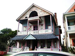 Ocean Grove Vicky's (SurFeRGiRL30) Tags: houses victorianhouses victorianera 1800s oceangrovenj oceangrove newjersey nj jerseyshore windows siding door doors towers tower porches porch gingerbread details detailed homes balcony balconies shore beach architeture roof pillars houseswithtowers old historic shadows light daytime day summer summerhomes hotels bedbreakfasts paint pretty quaint