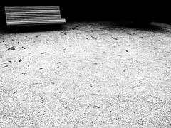 Waiting (Gabrielle Z) Tags: bw garden bench porto minimalism oporto serralves goldenratio theturntable distinguishedblackandwhite magicunicornverybest gabriellez