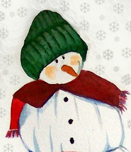 Snowman-with-Snowflakes-large