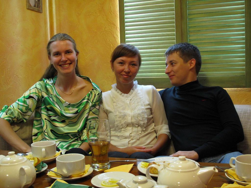 фото: Катя, Индира, Сергей