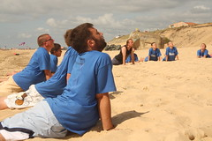souplesse (SurfCitoyen) Tags: ocean camping camp surf ride sable libre baines ripcurl jeunes surfriderfoundation ecologie glisse environement citoyens jeunesses citoyennes