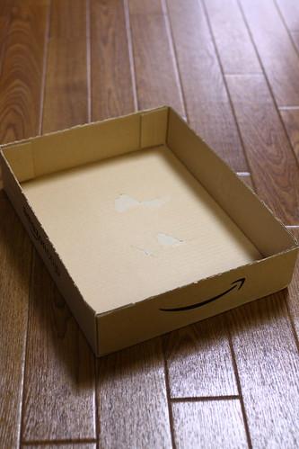 アマゾン箱トレー